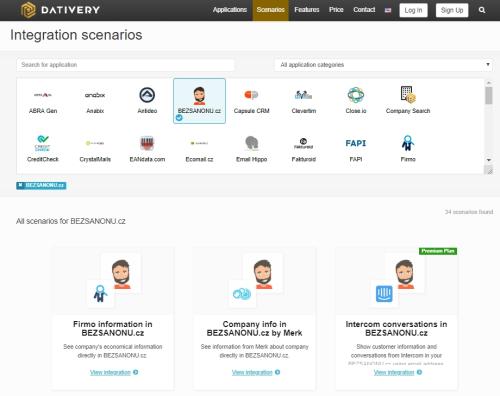 DativeryAppsScenarios